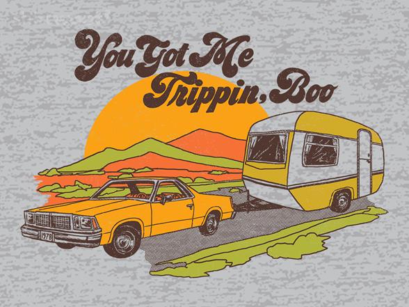 You Got Me Trippin, Boo T Shirt
