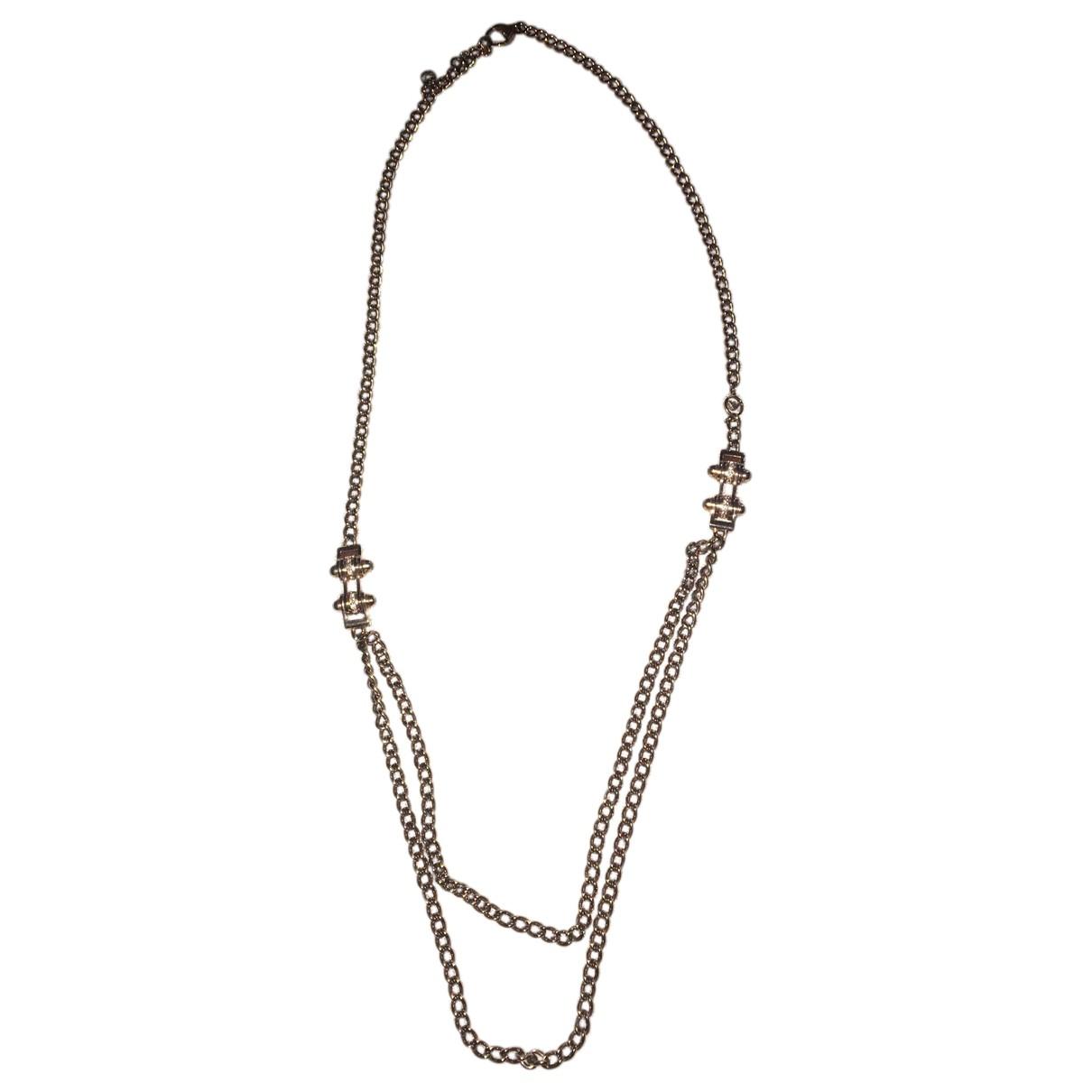 Emporio Armani - Collier   pour femme en acier - dore