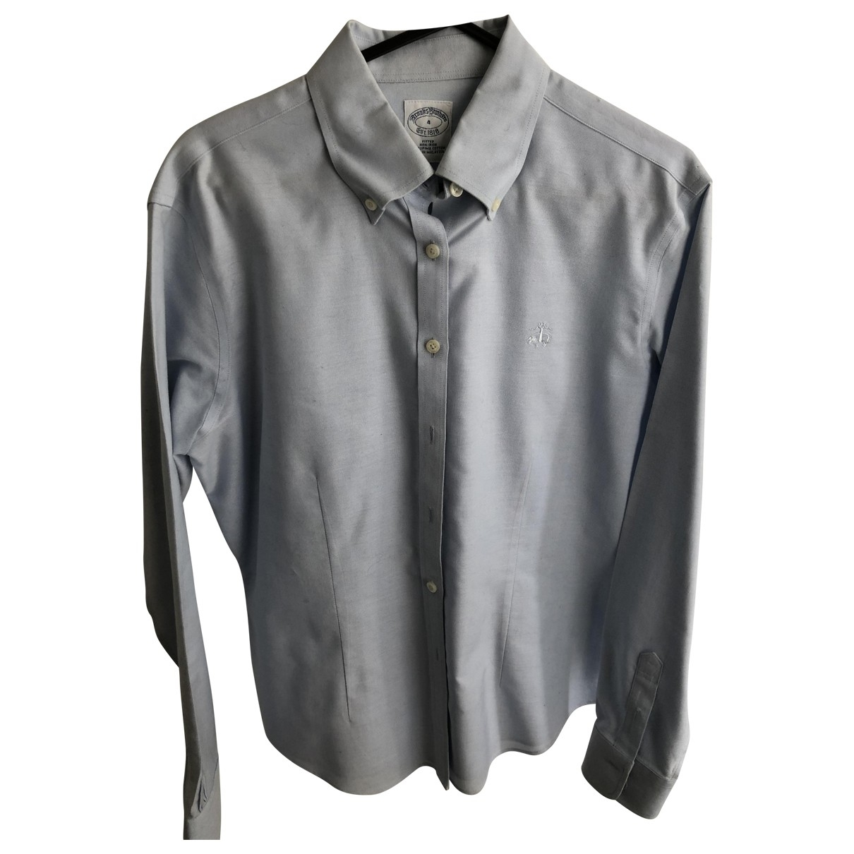 Brooks Brothers \N Top in  Blau Baumwolle