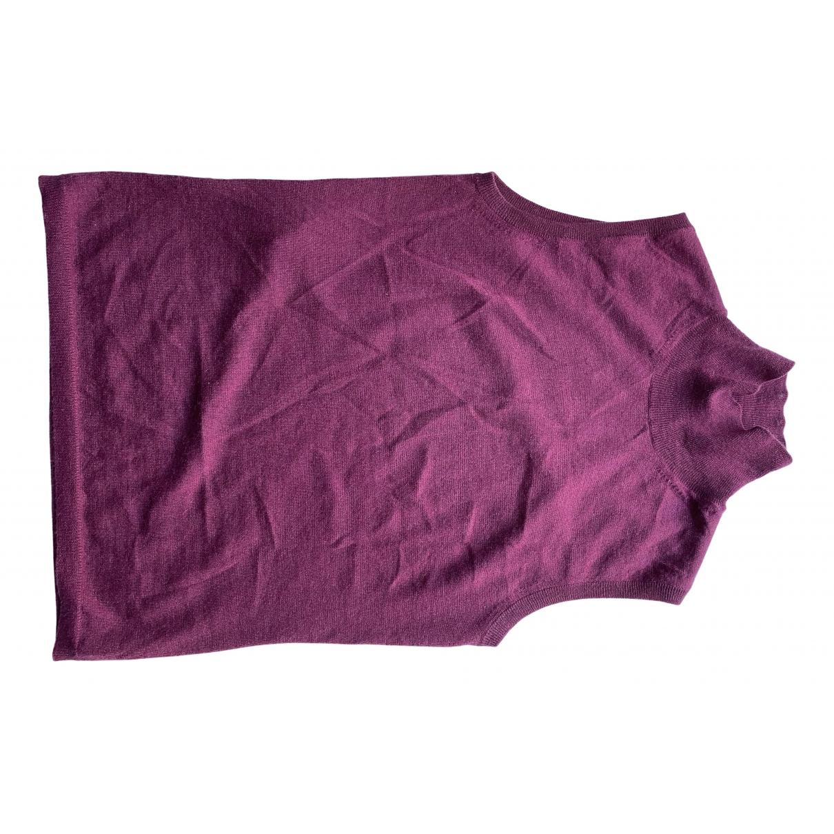 Miu Miu - Pull   pour femme en cachemire - rose
