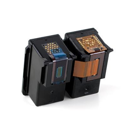 Compatible Canon PIXMA MG3020 cartouches encre noire et couleur de Moustache, ensemble de 2 paquet - haut rendement