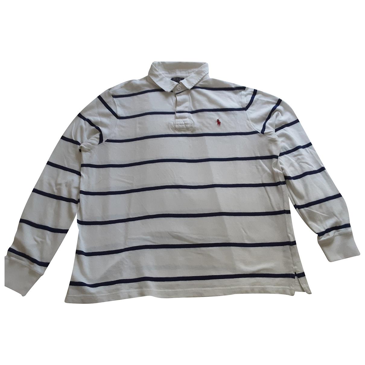 Polo en Algodon Blanco Ralph Lauren
