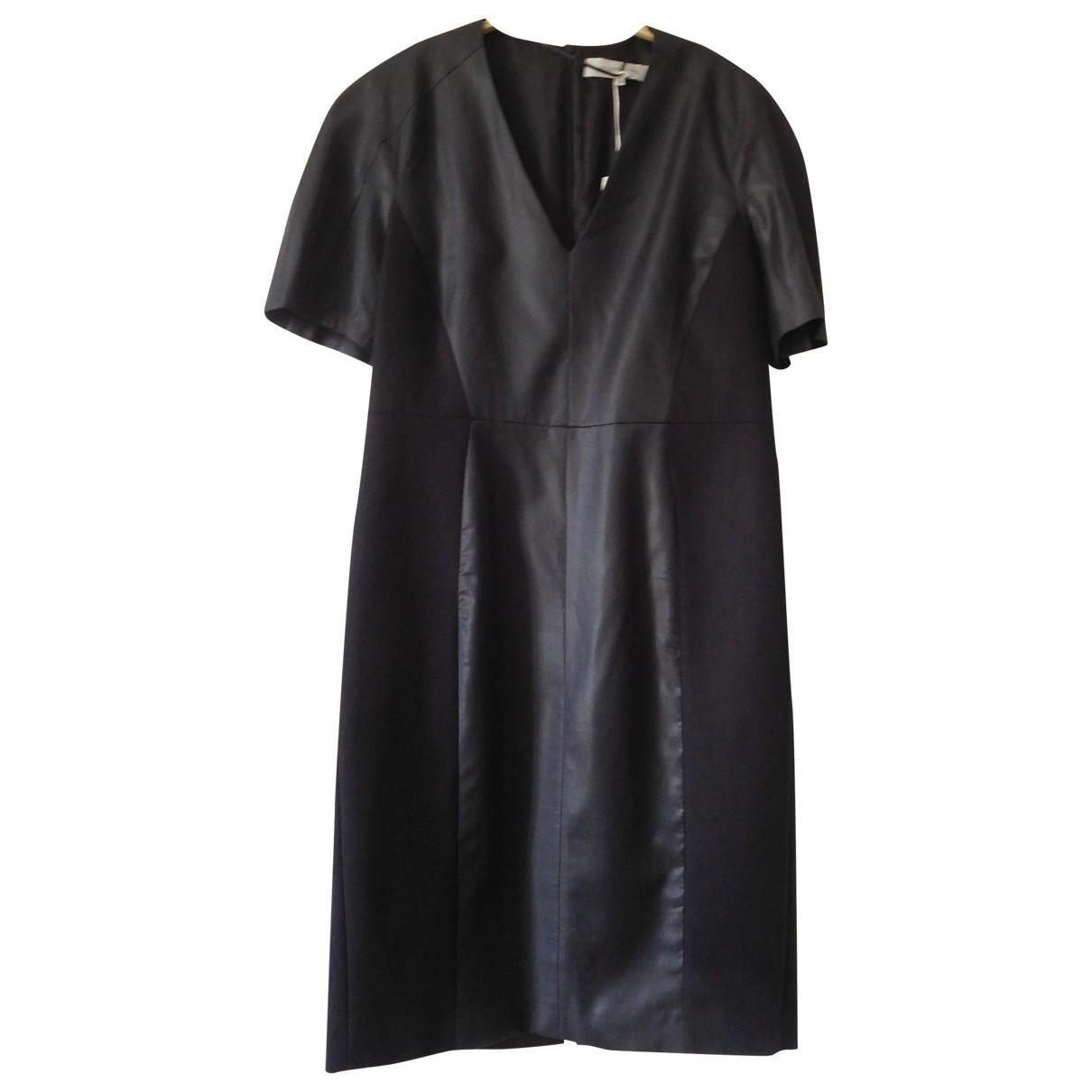 Gerard Darel - Robe   pour femme en laine - anthracite