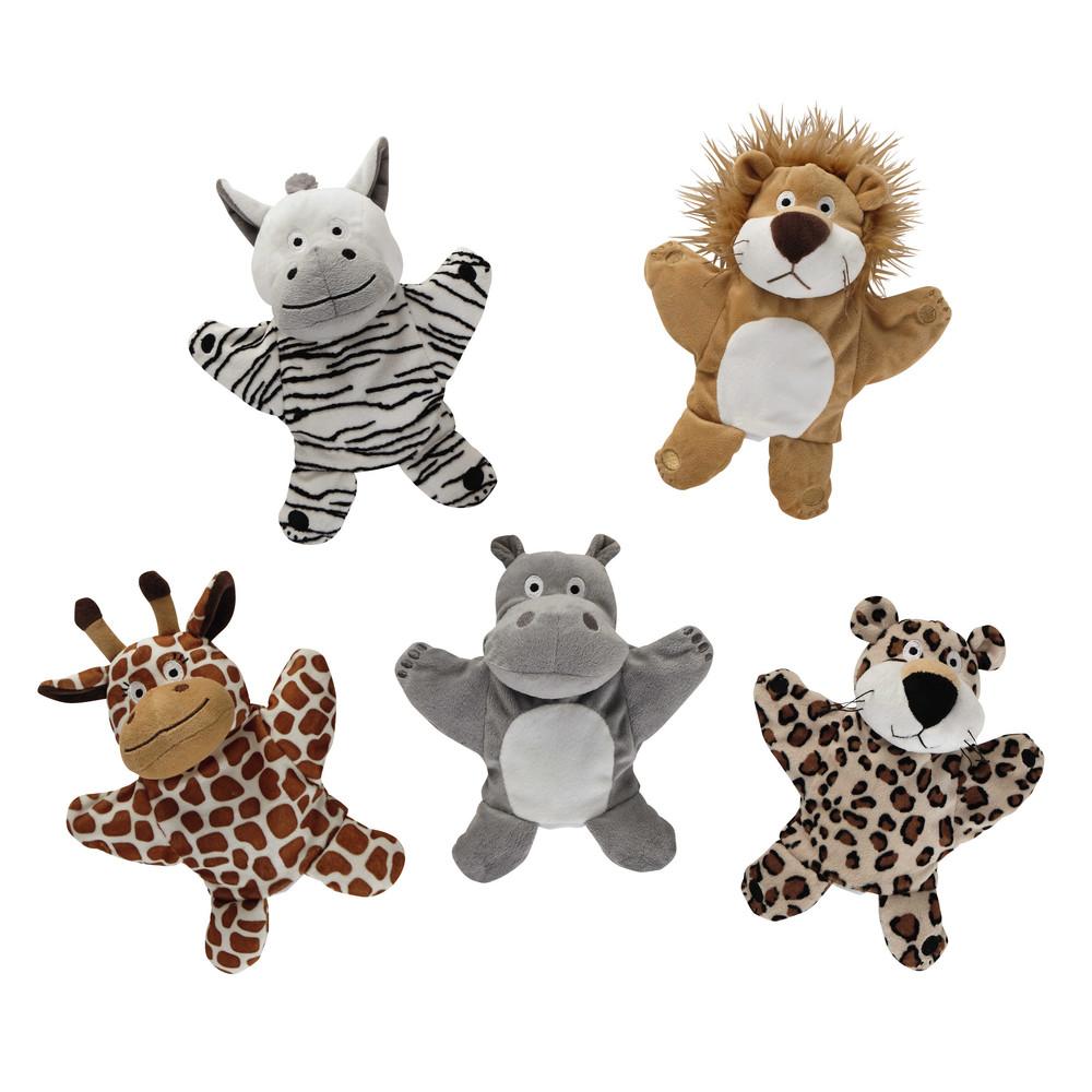 5 Marionetten Tiere
