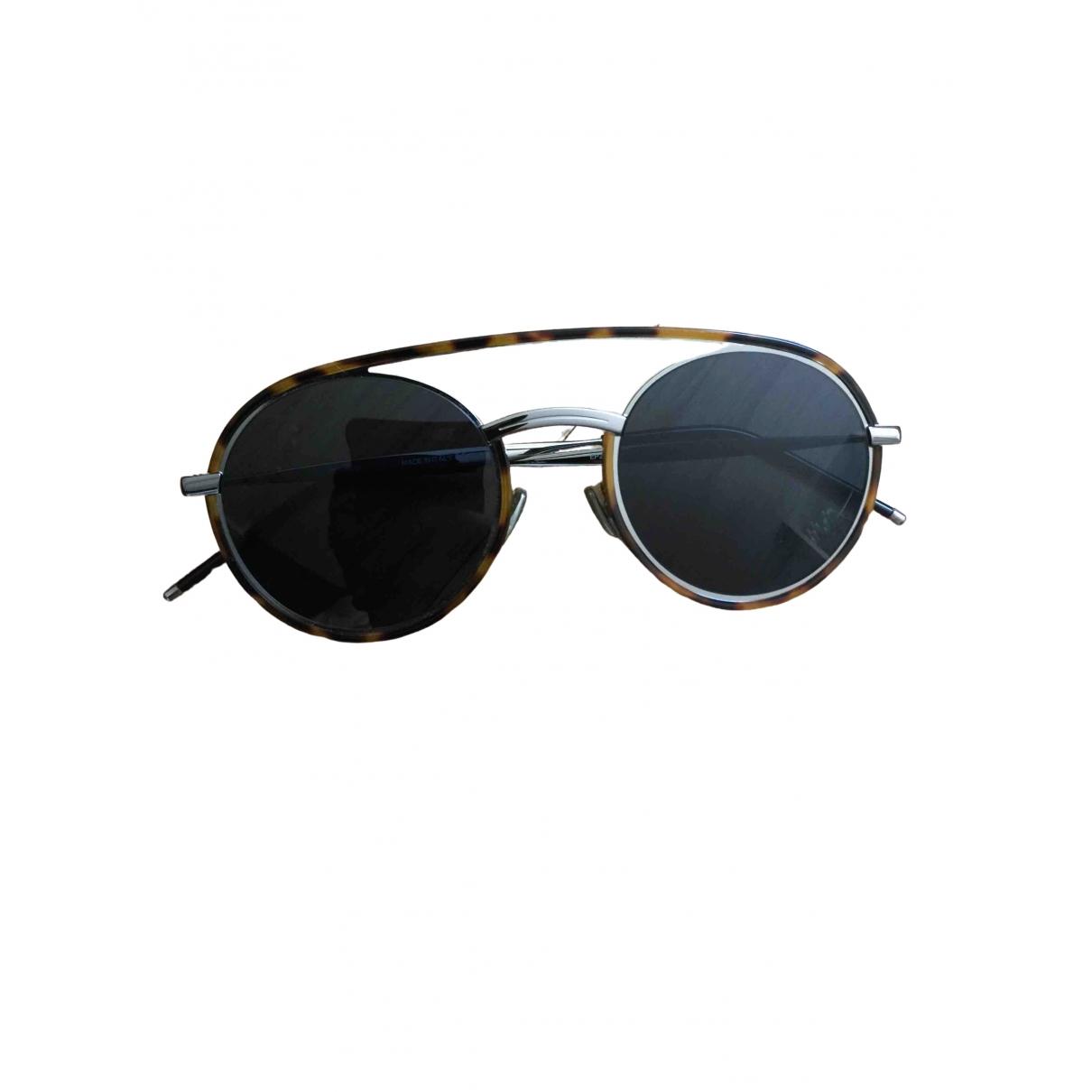 Dior Homme DIOR 0219S Brown Metal Sunglasses for Men \N