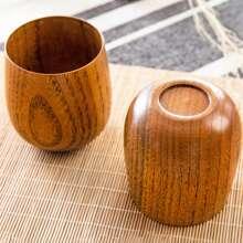 1 Stueck japanische Holztasse