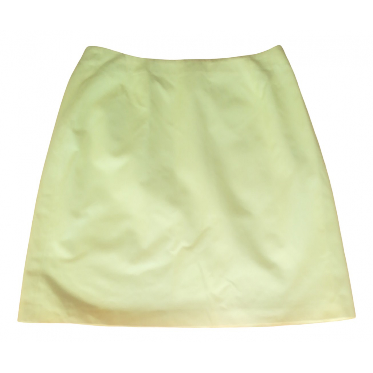 Iceberg \N Yellow Cotton skirt for Women 46 IT