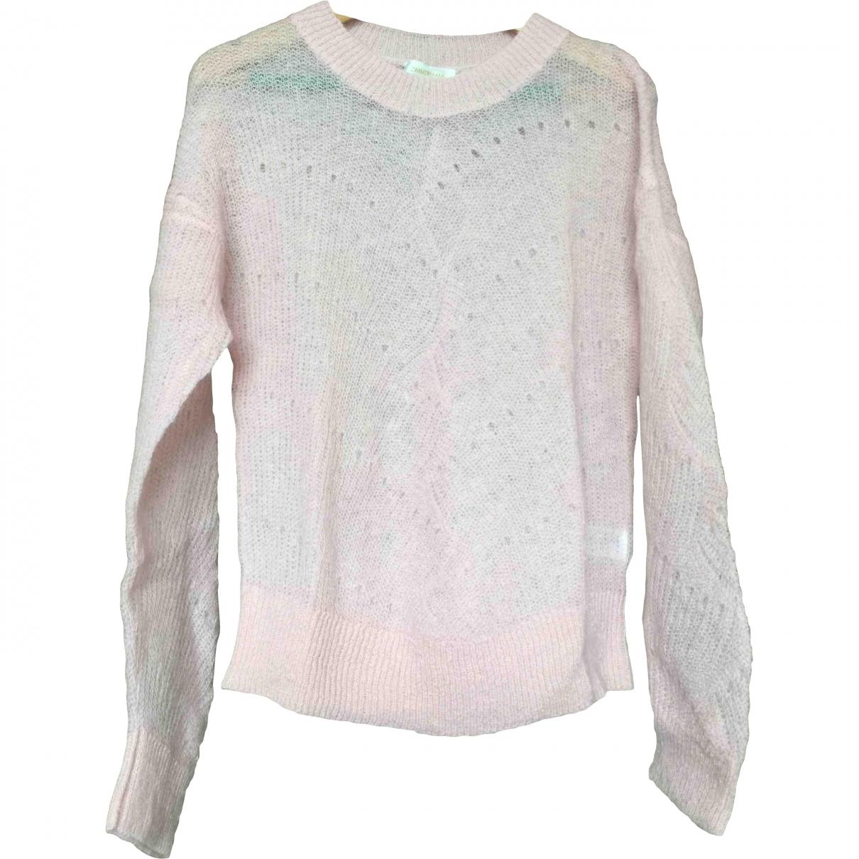 Zimmermann - Pull   pour femme en laine - rose