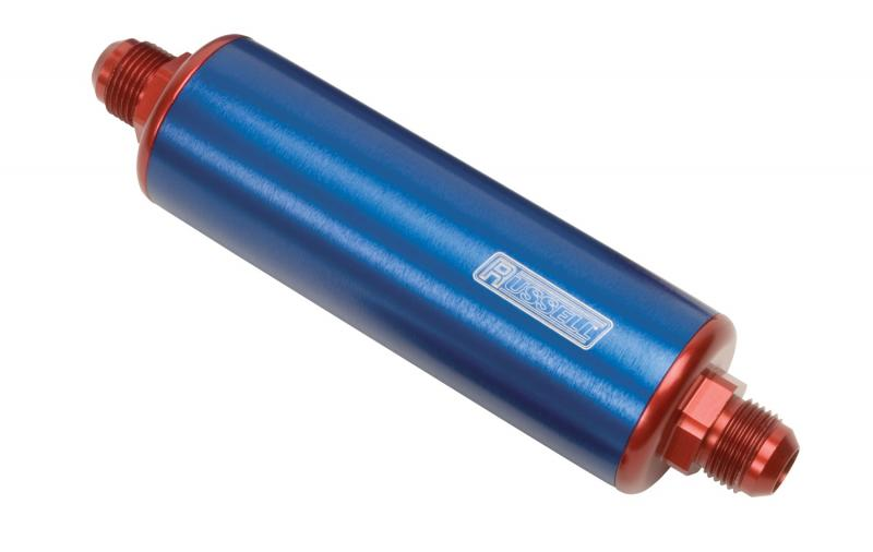 Russell FUEL FILTER; PROFILTER; 8.25in. LONG;-10 IN;-6 MALE OUT; 60 MICRON NYLON ELEMENT