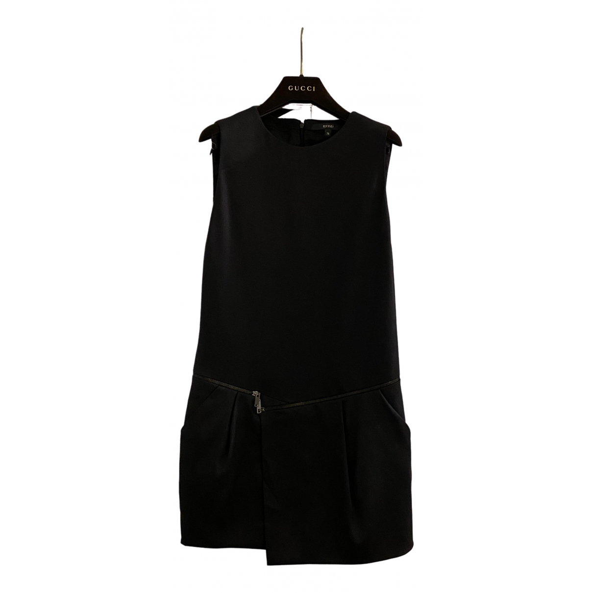 Gucci \N Black Silk dress for Women 38 IT