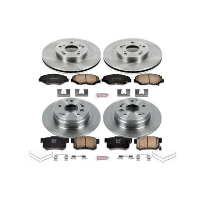 Power Stop 1-Click OE Replacement Brake Kits - KOE5389