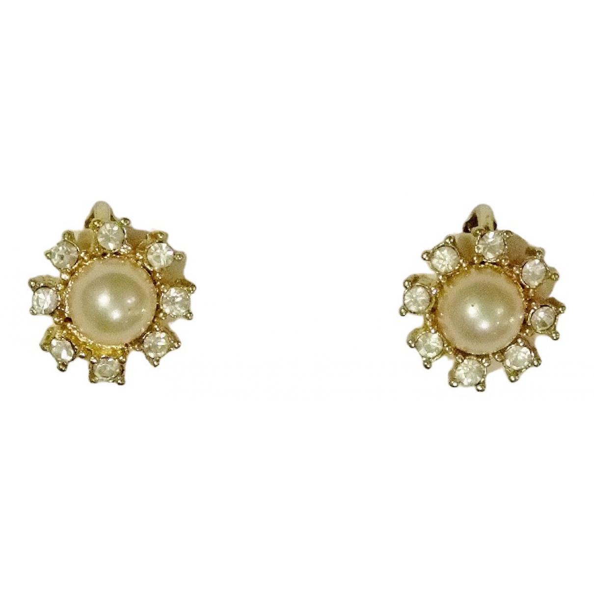 Dior - Boucles doreilles   pour femme en plaque or - dore