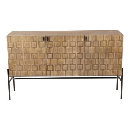 Dixie Collection DD-1009-15 Sideboard with Iron Base in Natural