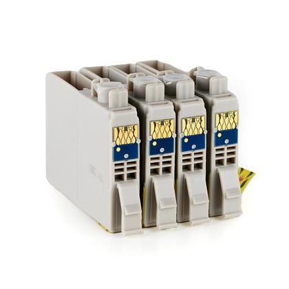 Compatible Epson T126 Ink Cartridge Combo High Yield BK/C/M/Y - Moustache@