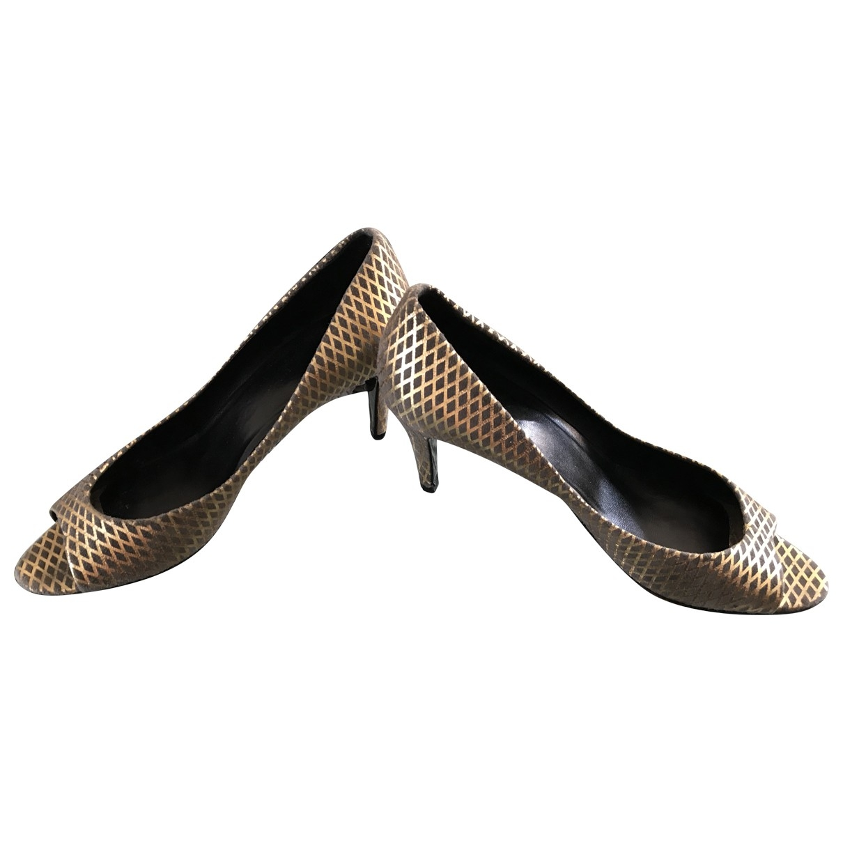 Pierre Hardy \N Silver Leather Heels for Women 39 EU