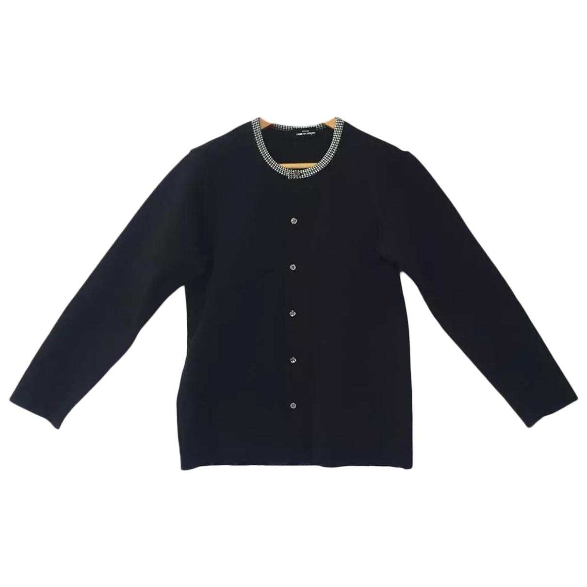 Comme Des Garcons \N Black Cotton Knitwear for Women M International