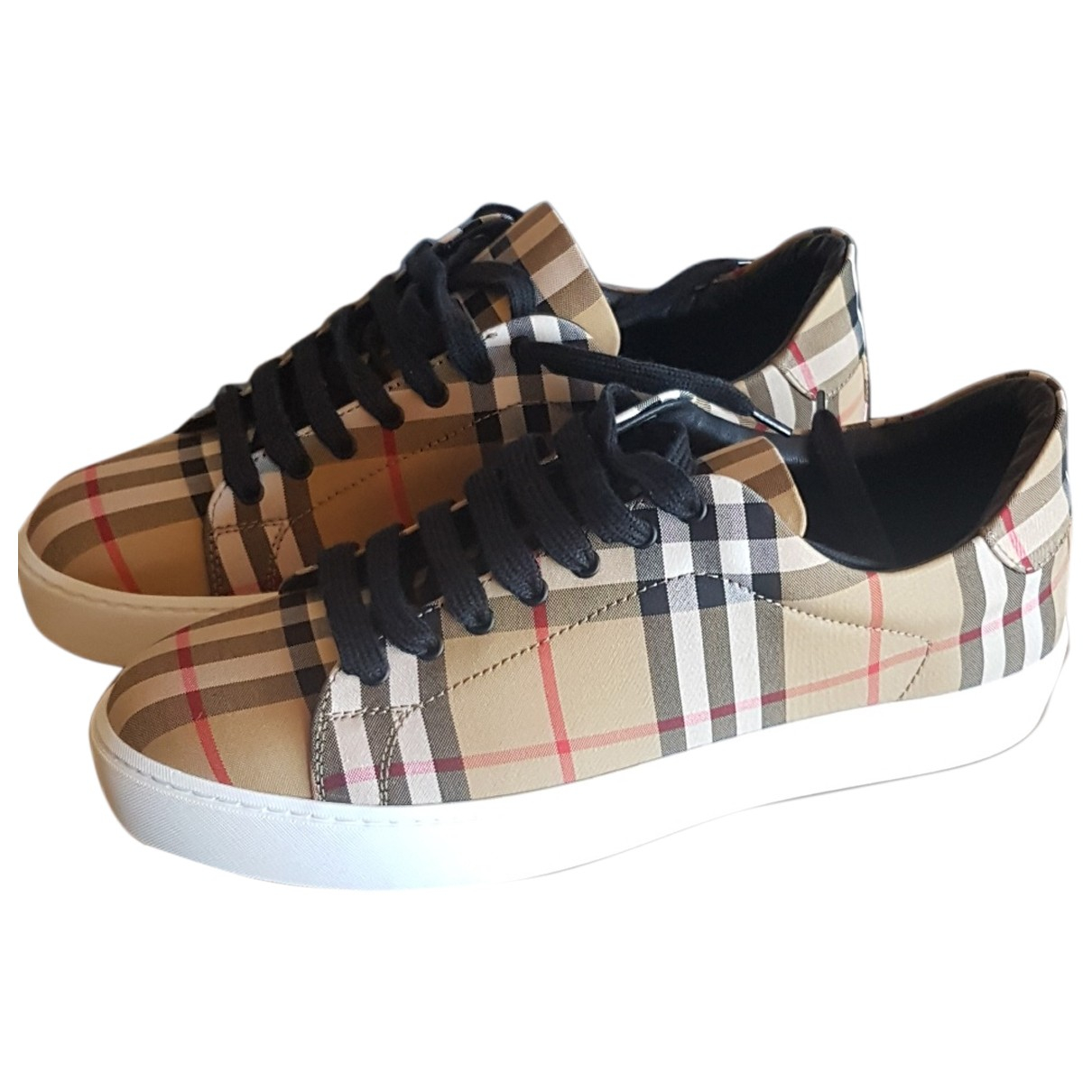 Burberry \N Multicolour Cloth Trainers for Women 38 EU