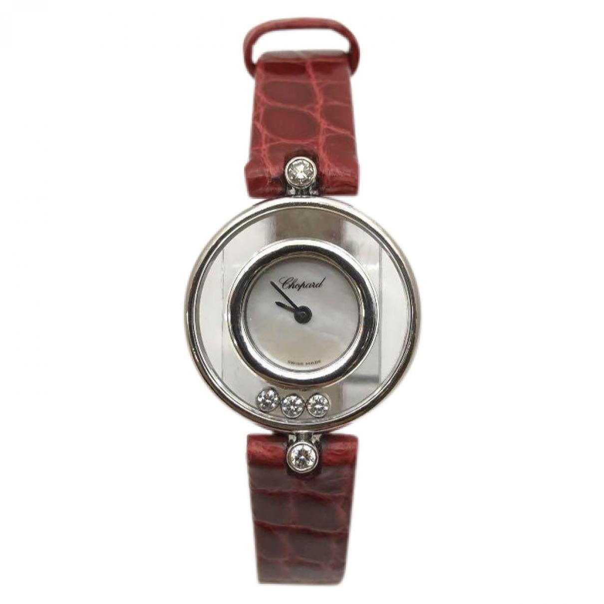 Chopard Happy Diamonds White White gold watch for Women \N
