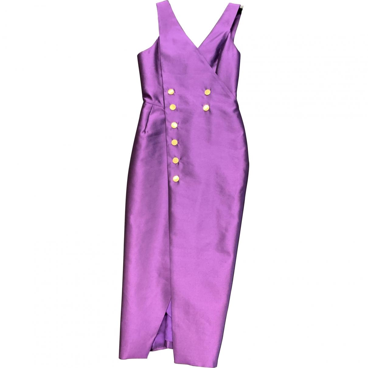 Ports 1961 - Robe   pour femme en soie - violet