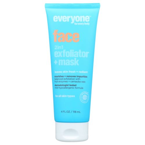 2 in 1 Exfoliator + Mask 4 Oz by EO Products