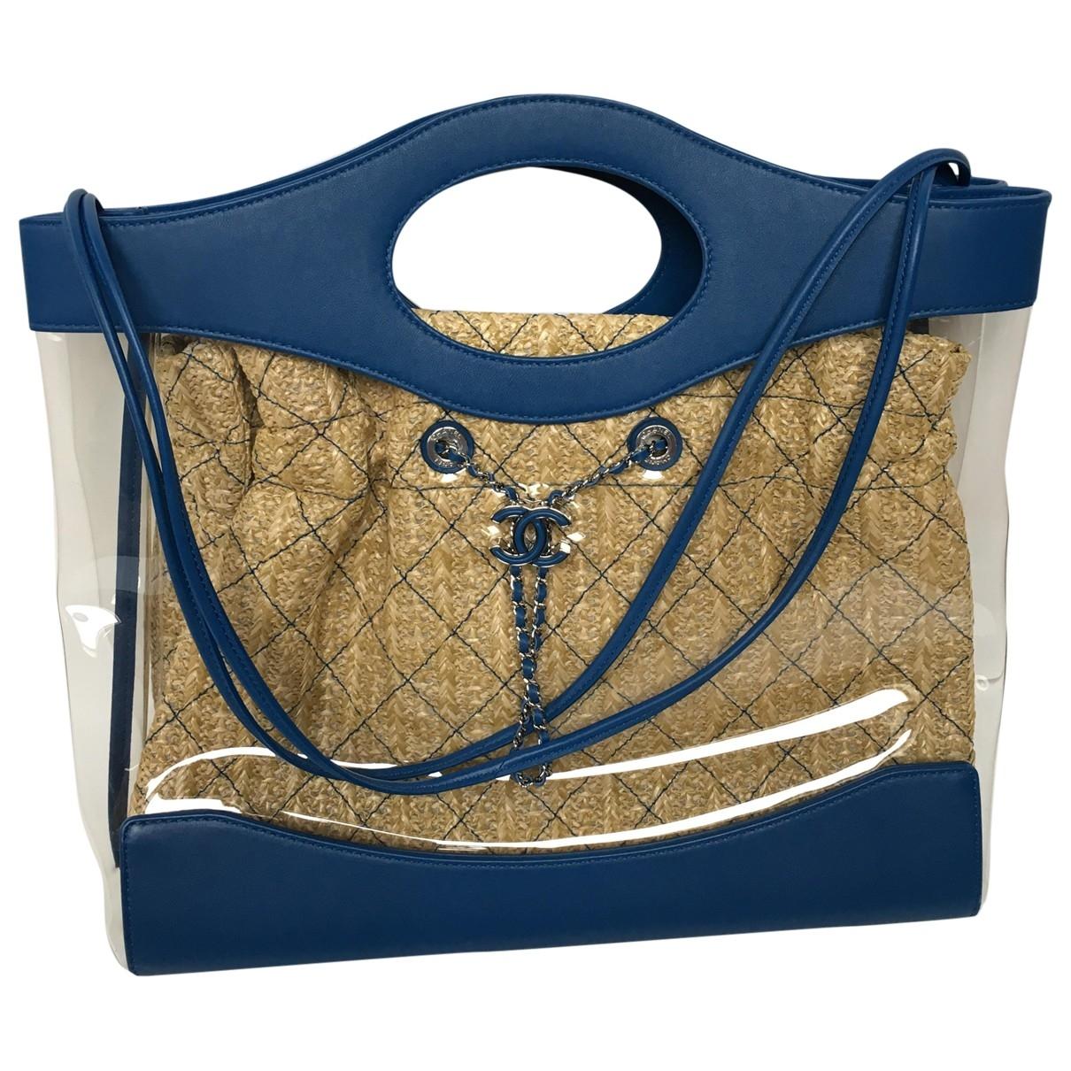 Chanel 31 Blue Leather handbag for Women \N