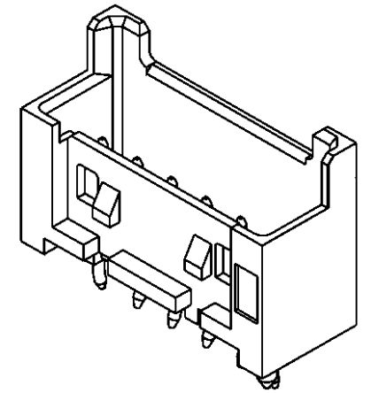 Molex , Mini-Lock, 53375, 7 Way, 1 Row, Straight PCB Header (10)