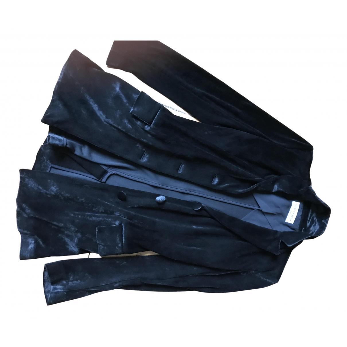 Sonia Rykiel N Black Velvet jacket for Women 36 FR