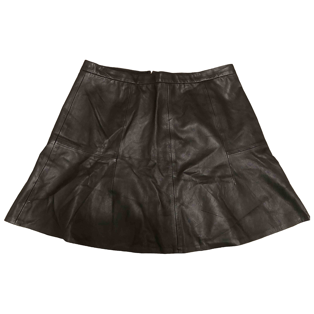 J.crew \N Black Leather skirt for Women 6 US