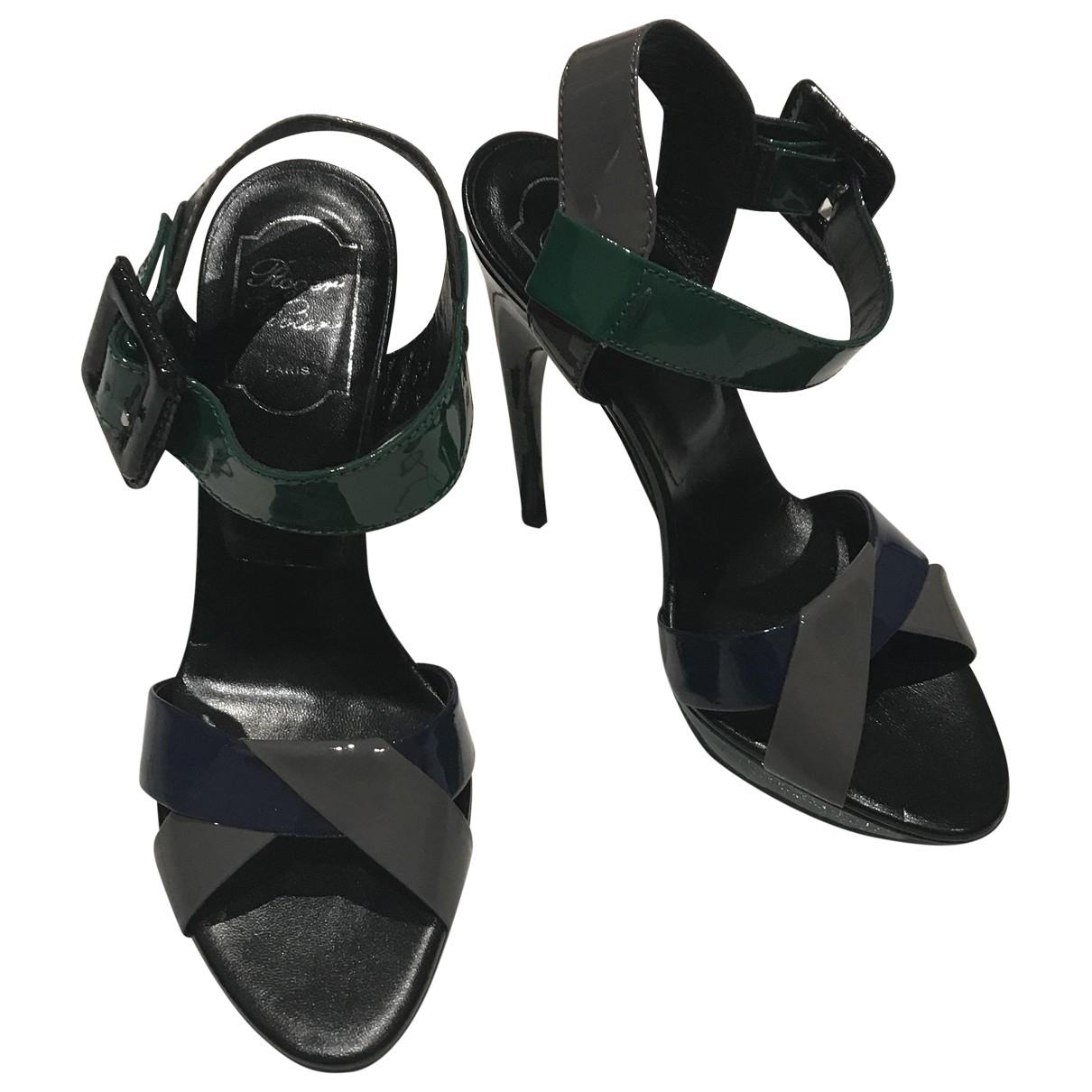 Roger Vivier \N Multicolour Leather Sandals for Women 39 EU