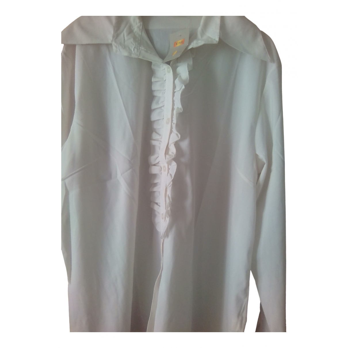 Laurence King - Top   pour femme - blanc