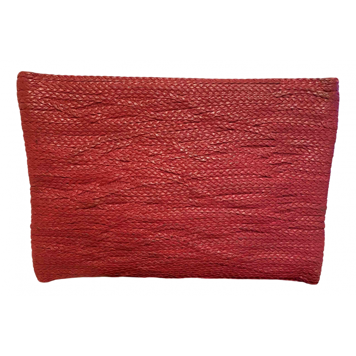 Jay Ahr N Red Leather Clutch bag for Women N