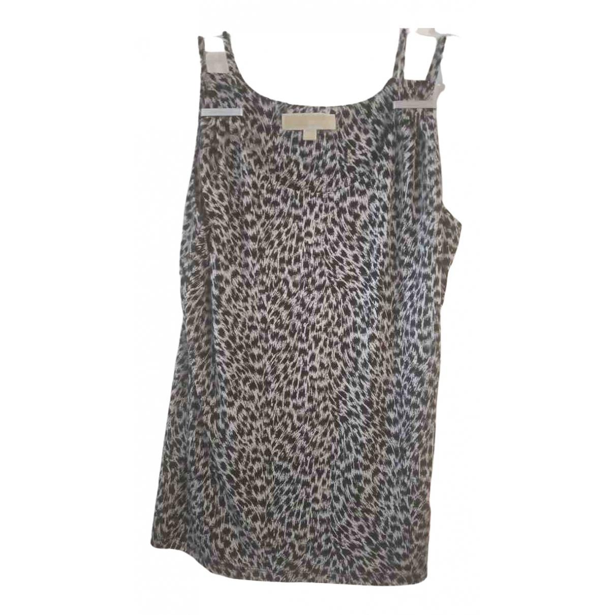 Michael Kors - Top   pour femme en soie - gris