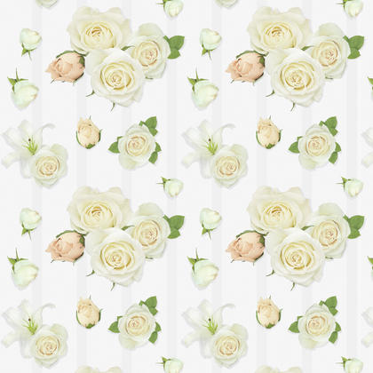 Wedding Roses Gift Wrap, 30