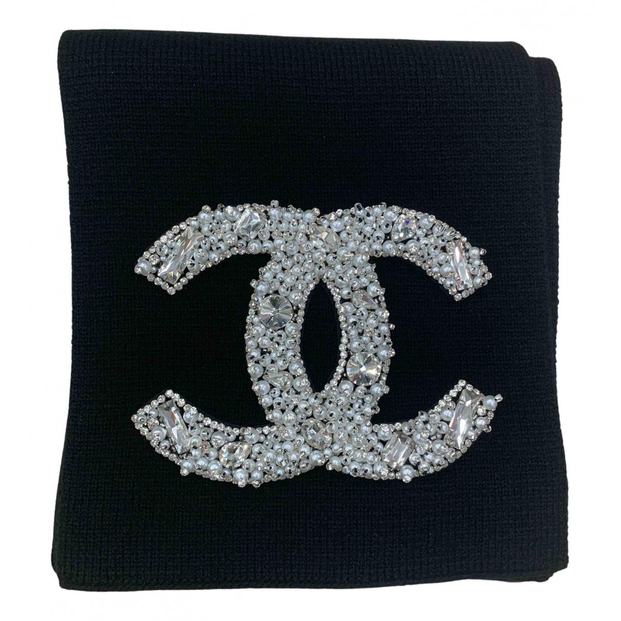 Chanel N Black Cashmere scarf for Women N