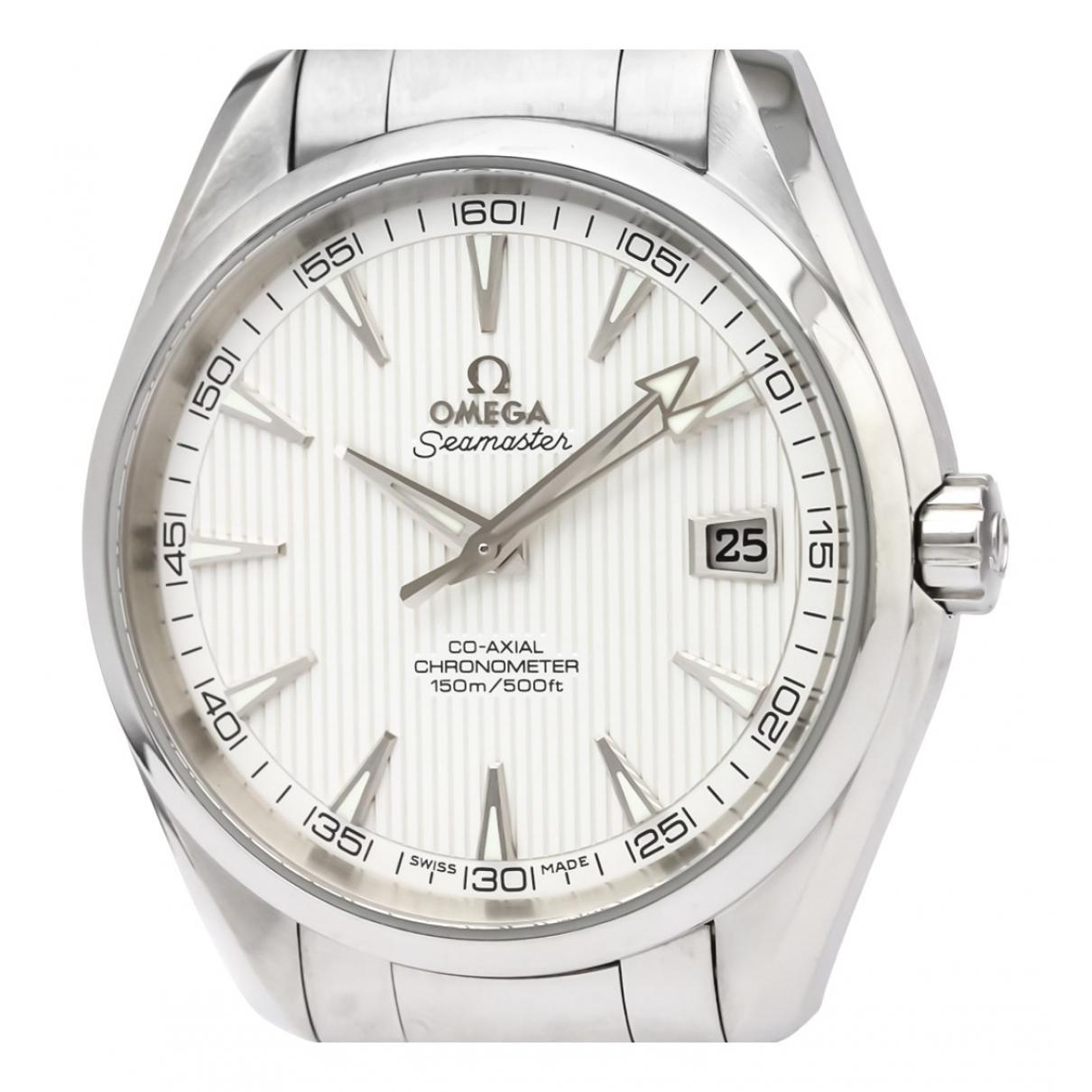 Omega Seamaster Aquaterra Uhr in  Silber Stahl