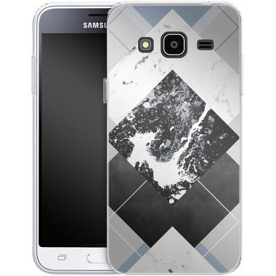 Samsung Galaxy J3 (2016) Silikon Handyhuelle - Geometric Textures 5 von Mareike Bohmer