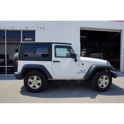 Rally Tops One-Piece Hardtop with Sunroof and Roof Rack - JK2DRRS