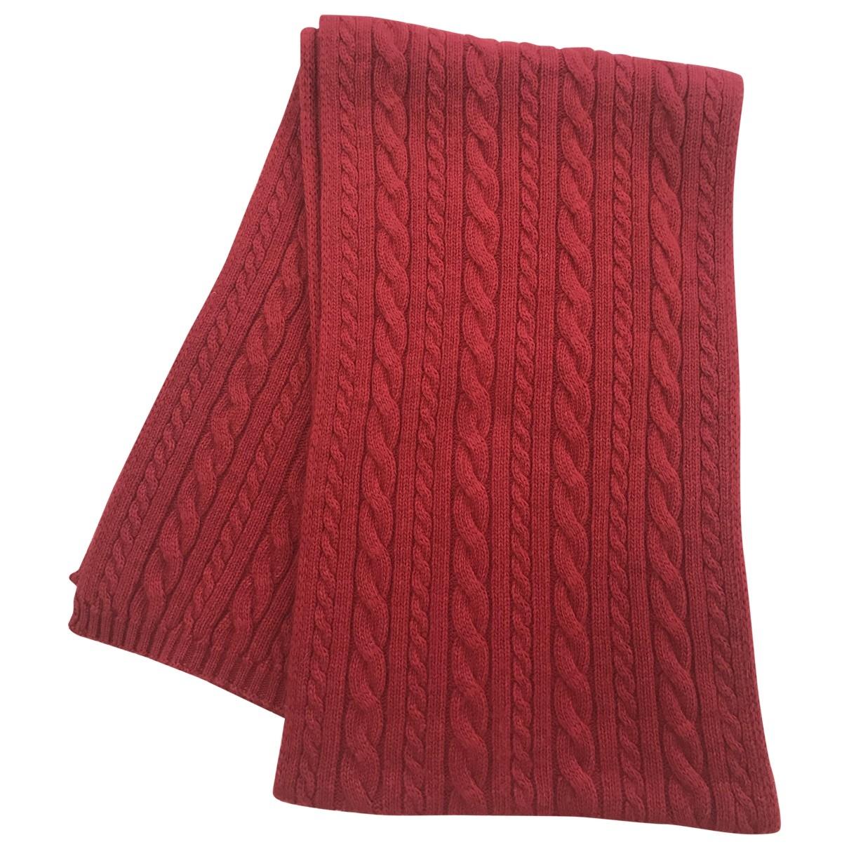Romeo Gigli \N Red Wool scarf for Women \N