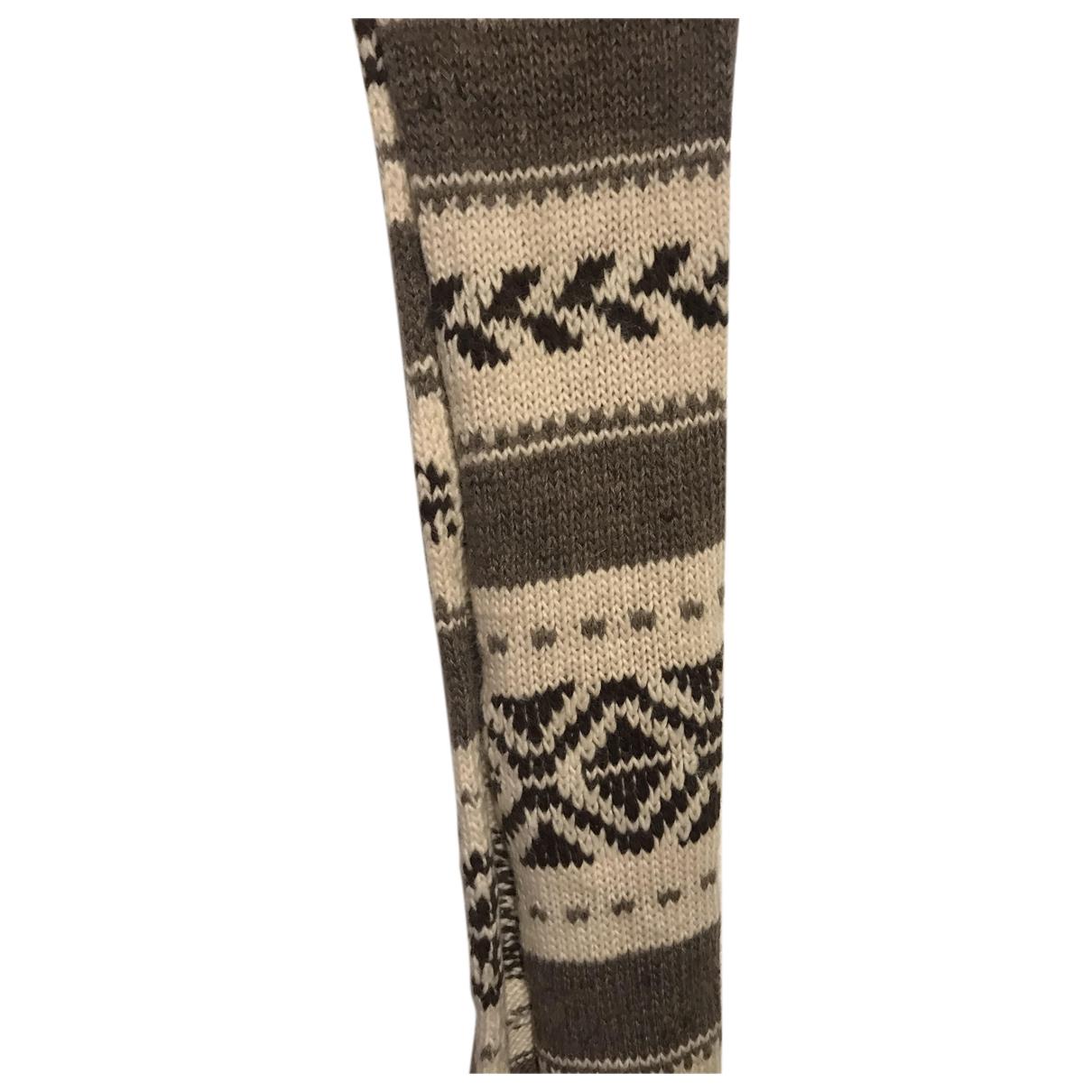 Ralph Lauren Denim & Supply - Foulard   pour femme en laine - beige
