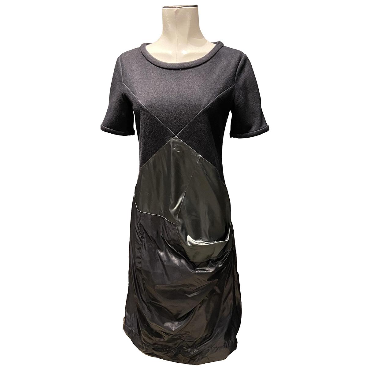 Prada - Robe   pour femme en laine - marine