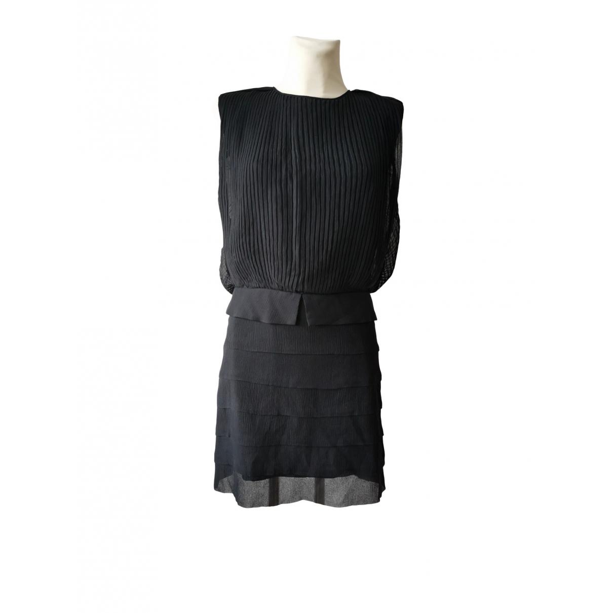 Joseph \N Black Silk dress for Women 40 FR
