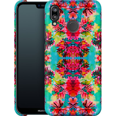 Huawei P20 Lite Smartphone Huelle - Tropical Floral von Amy Sia
