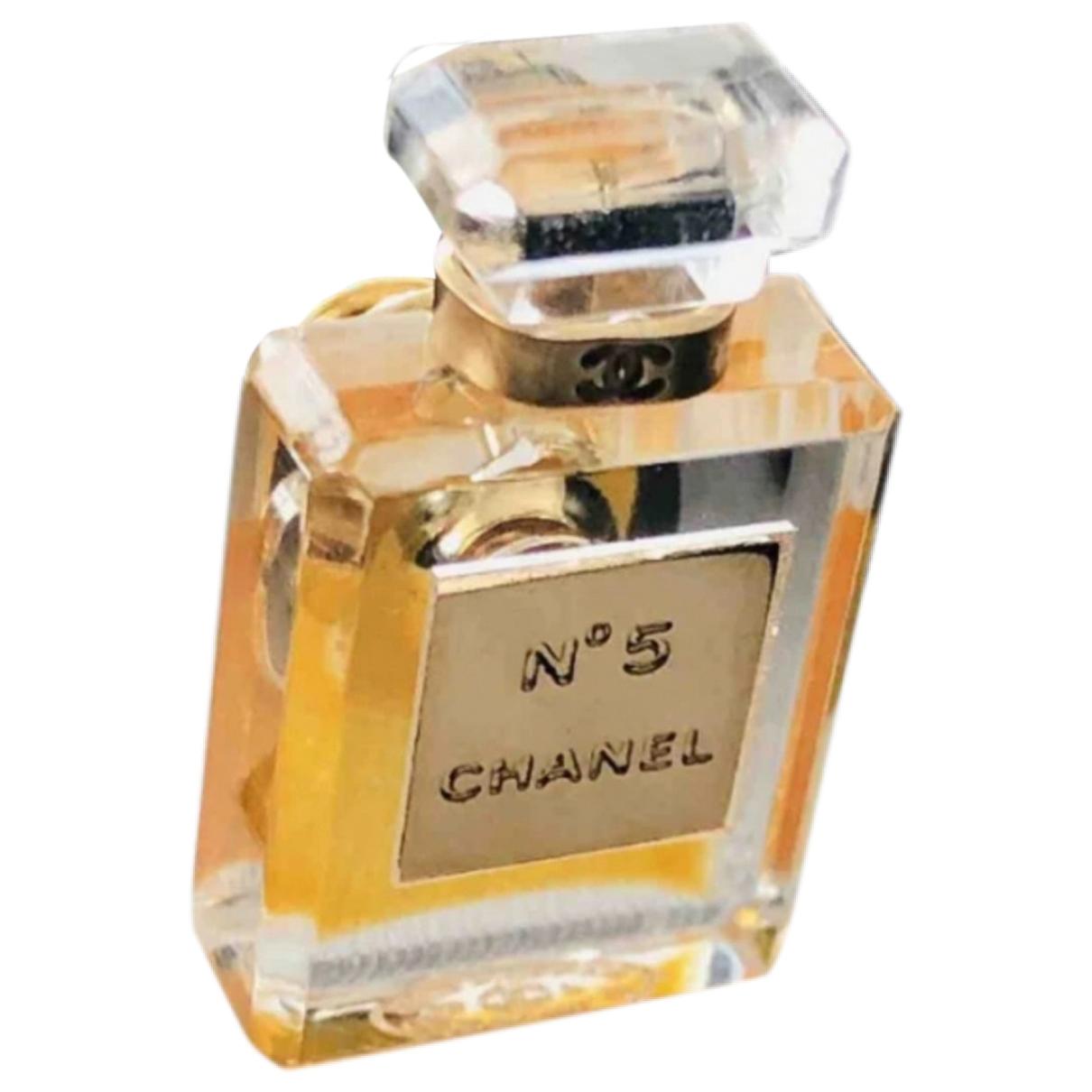 Chanel \N Brosche in  Gelb Kunststoff