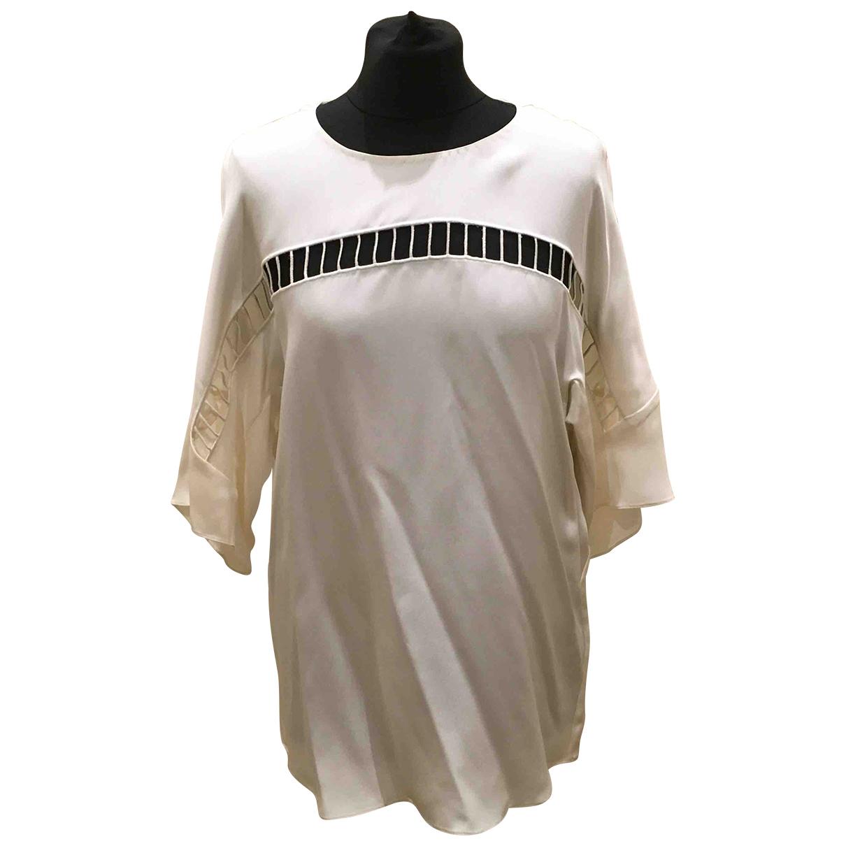 3.1 Phillip Lim \N White Silk  top for Women 4 US