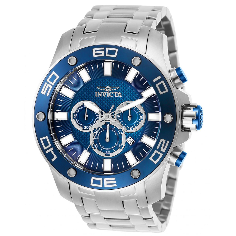 Invicta Men's Pro Diver 26075 Silver Stainless-Steel Quartz Diving Watch