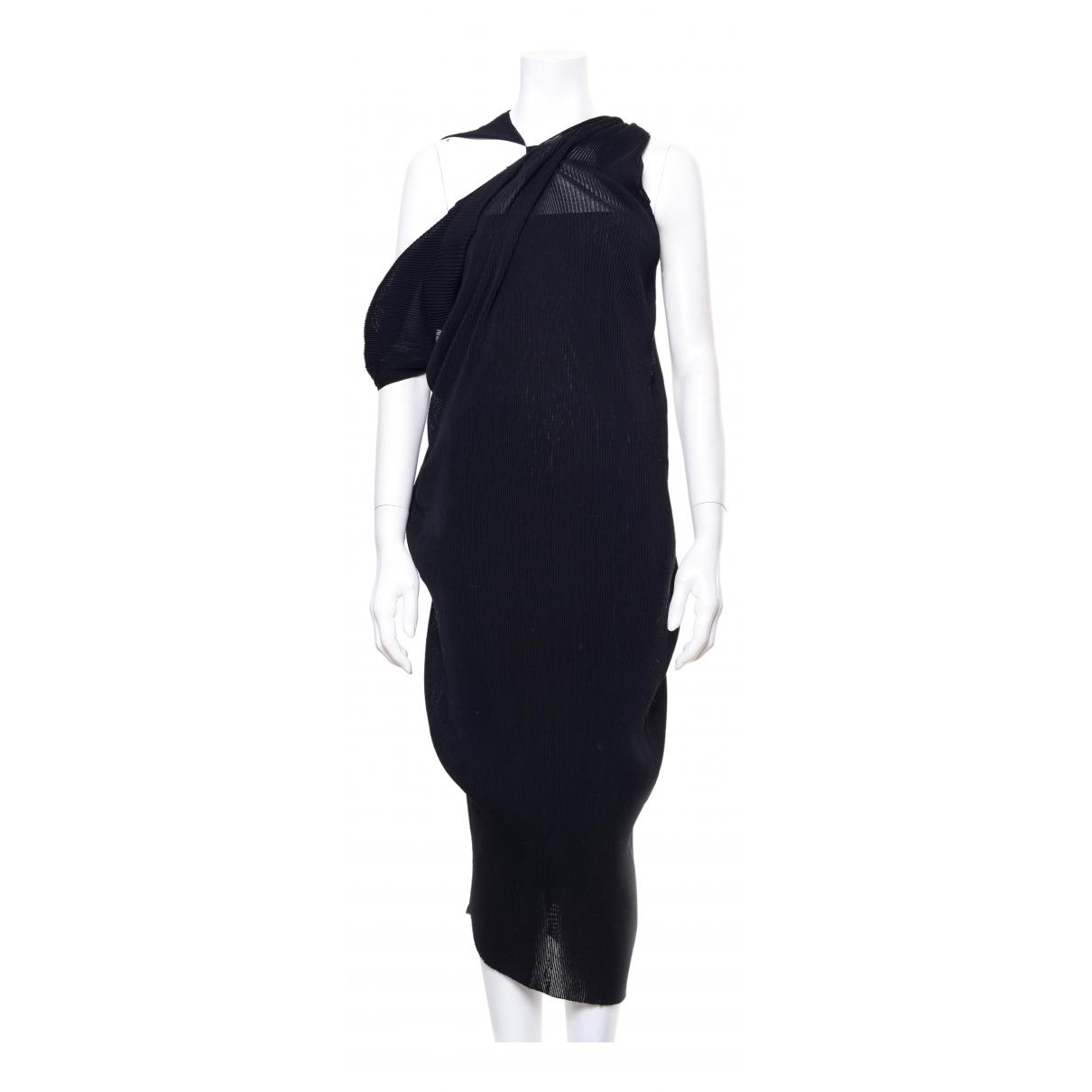 Bottega Veneta \N Kleid in  Schwarz Synthetik