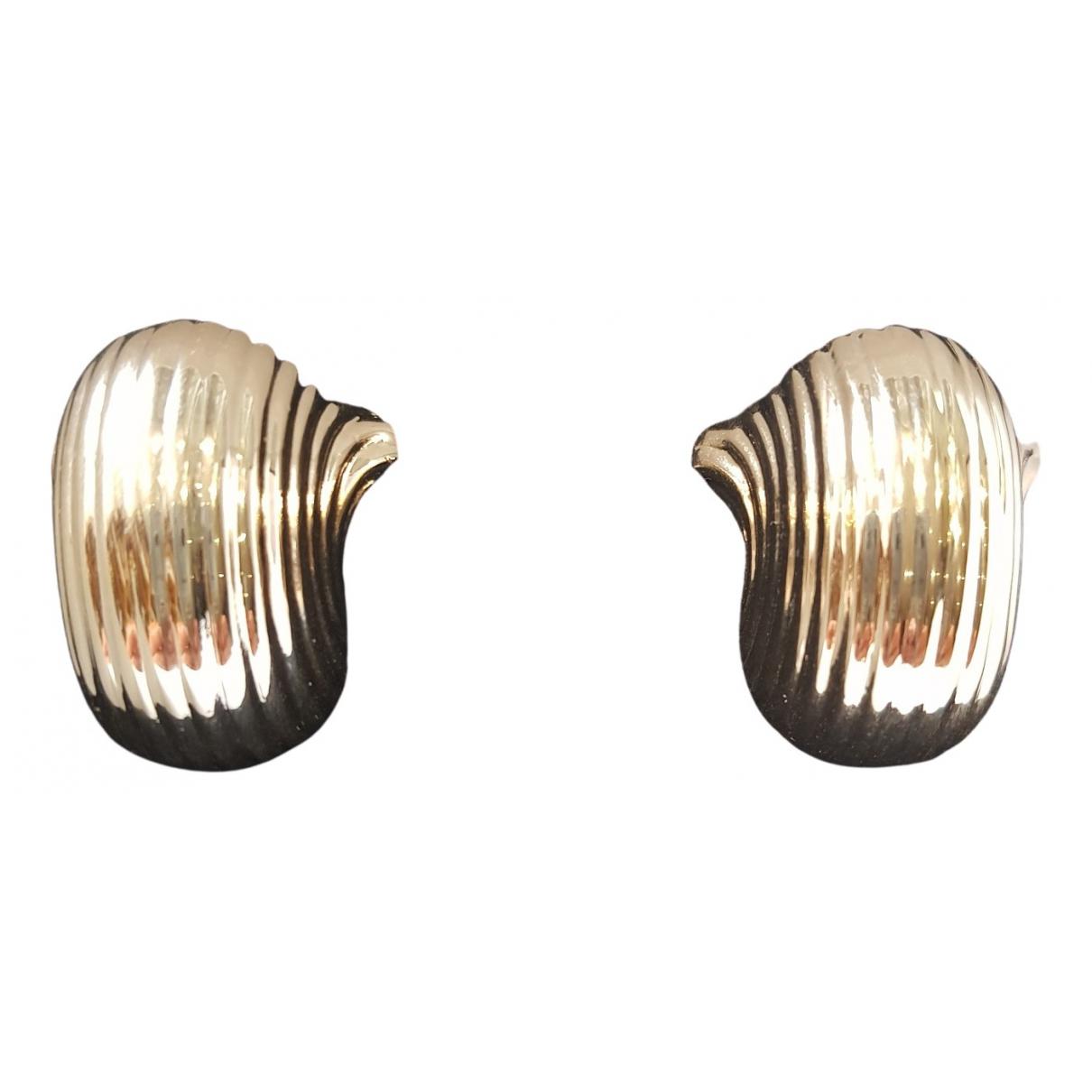 Jacquemus - Boucles doreilles   pour femme en metal - dore