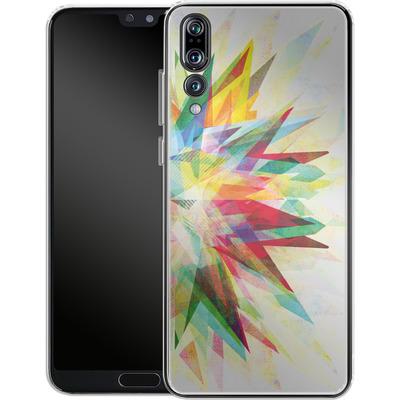Huawei P20 Pro Silikon Handyhuelle - Colorful 6 von Mareike Bohmer
