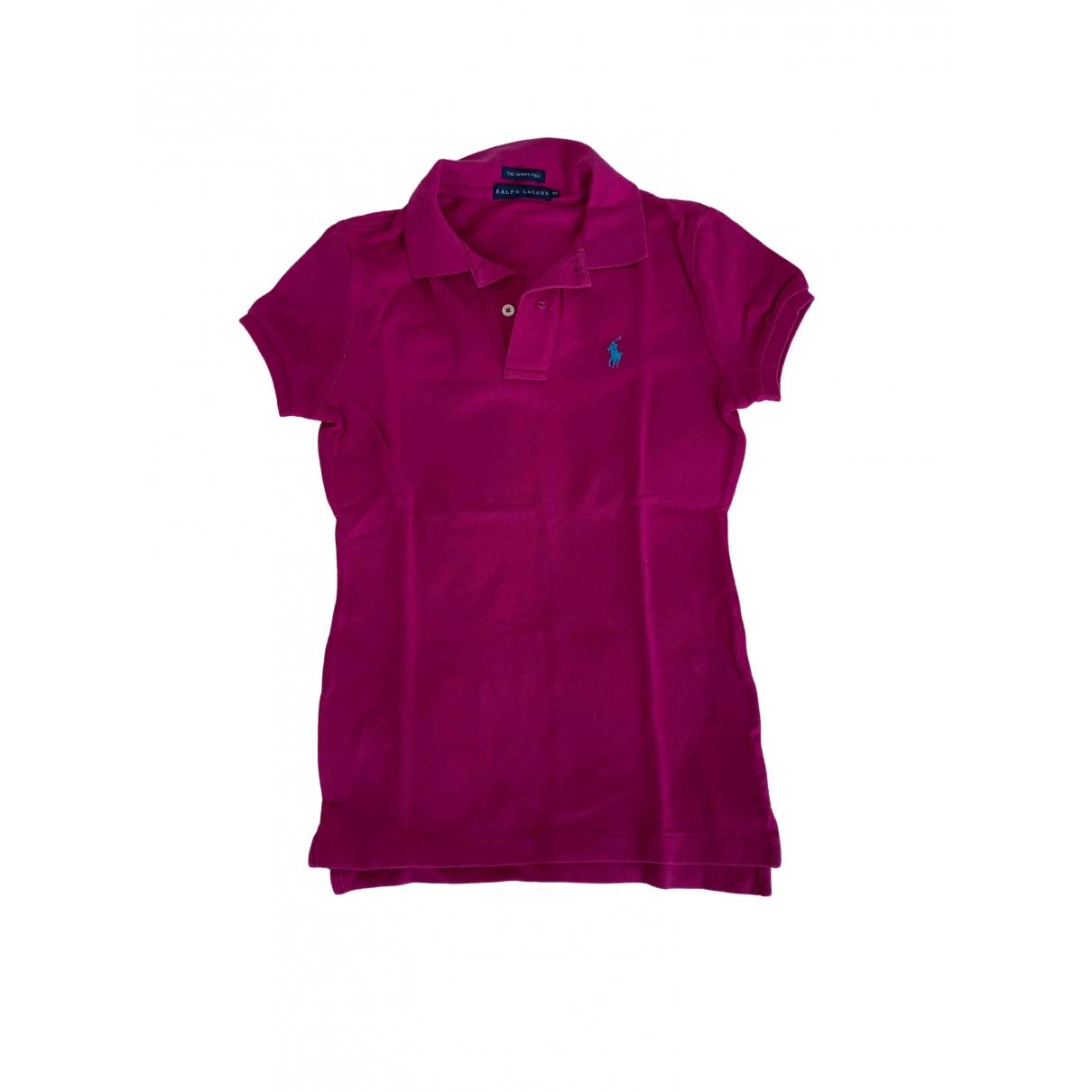 Ralph Lauren \N Pink Cotton  top for Women XS International