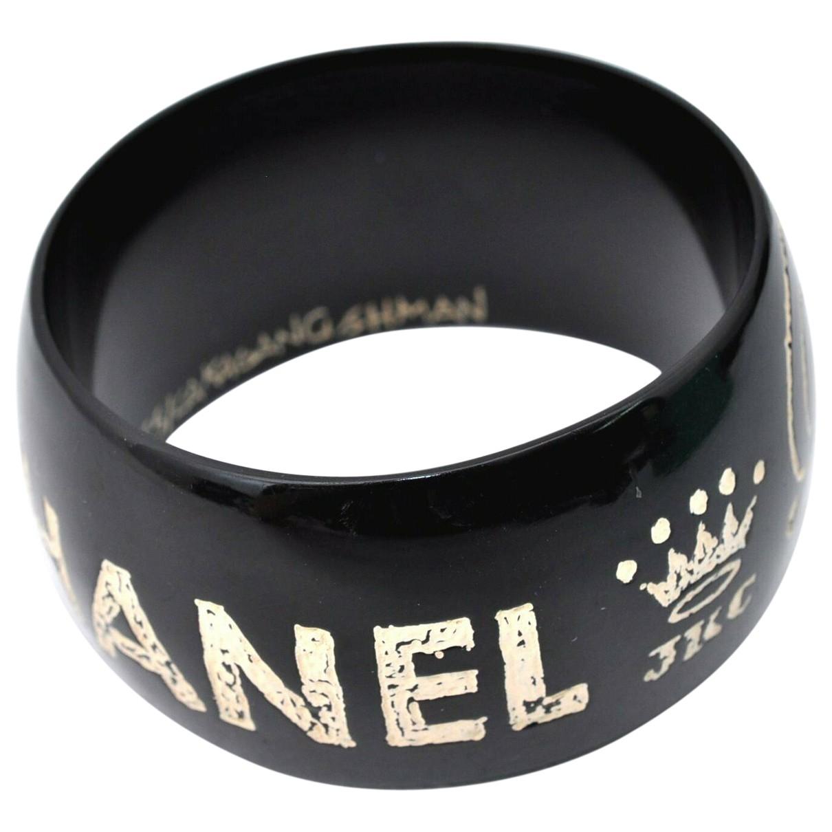 Chanel - Bracelet CHANEL pour femme - noir